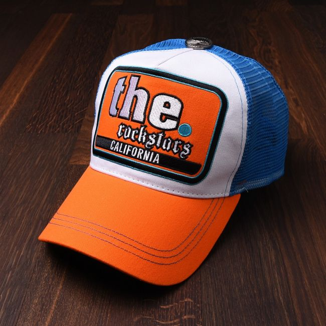 Rockstars & Angels Unisex Cap California blue orange