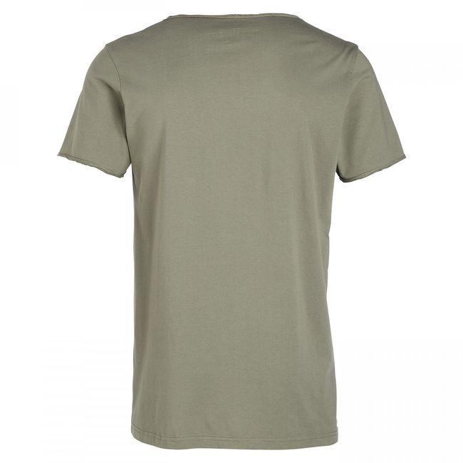 Rockstars & Angels the Rockstars Logo T-Shirt Army Green