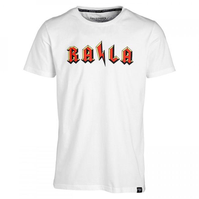 Rockstars & Angels Men T-Shirt RA/LA White Herren MEN
