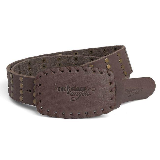 Rockstars & Angels Basic Belt brown