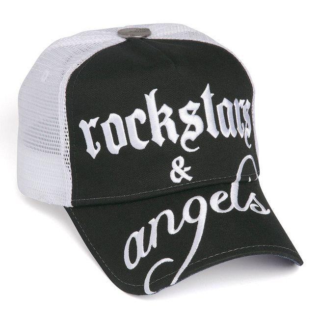 Rockstars & Angels Unisex Cap Logo Large black