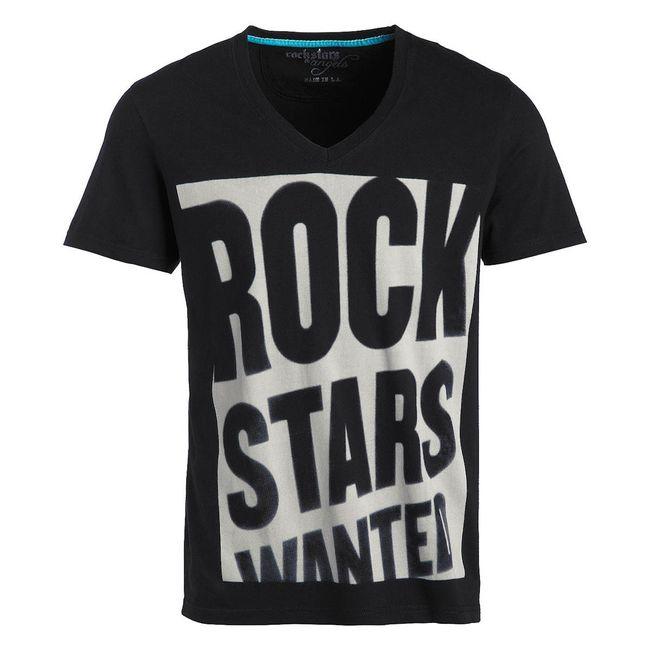 Rockstars & Angels Men T-Shirt Wanted black