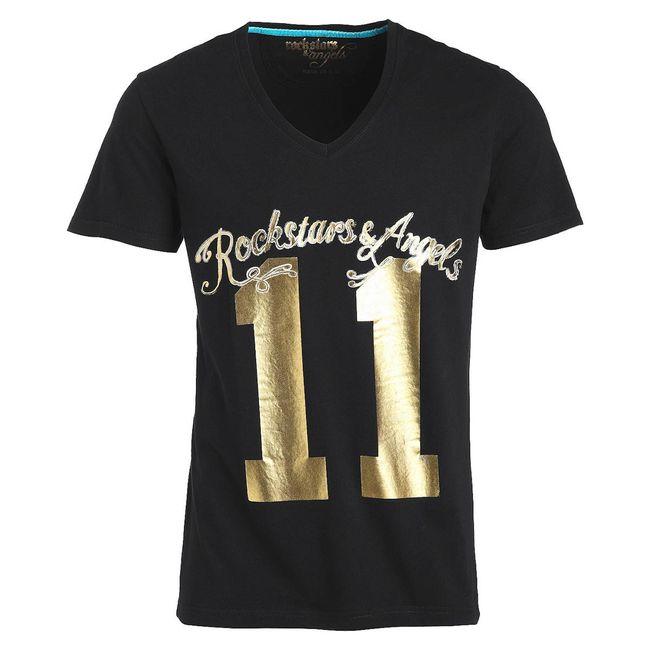 Rockstars & Angels 11 T-Shirt schwarz Herren