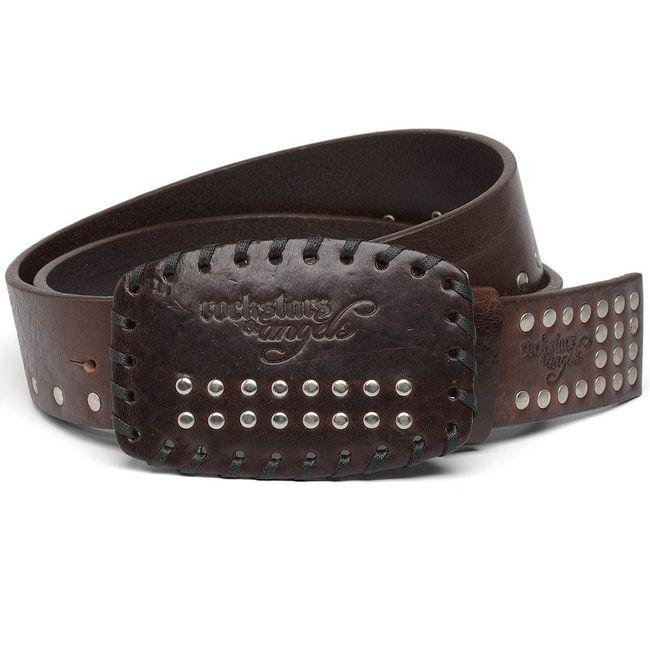 Rockstars & Angels Cowboy Belt brown