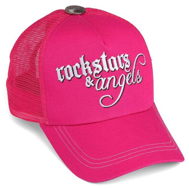 Rockstars & Angels Unisex Cap Logo klein pink