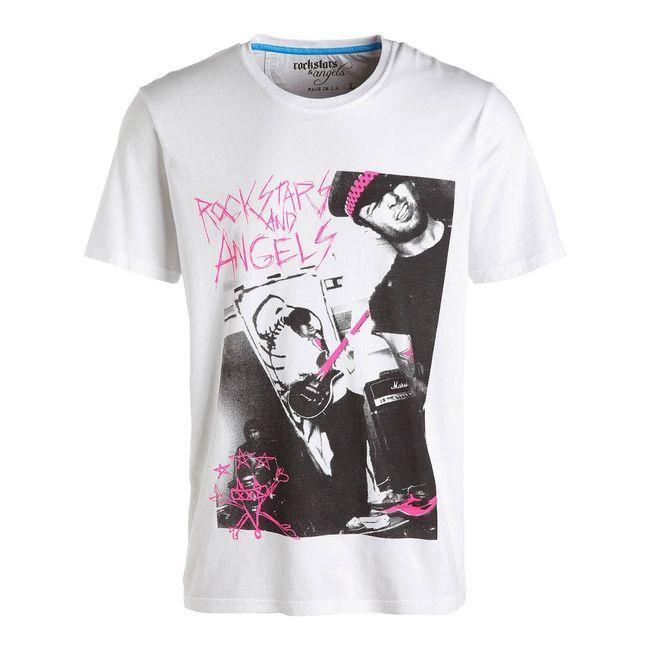 Rockstars & Angels Fuck Nick 2 T-Shirt white Men