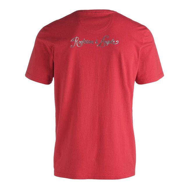 Rockstars & Angels Rockstars Wanted T-Shirt red Men
