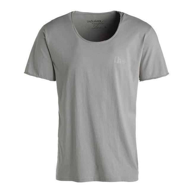 Rockstars & Angels Rock Cut Rockstars T-Shirt grau Herren