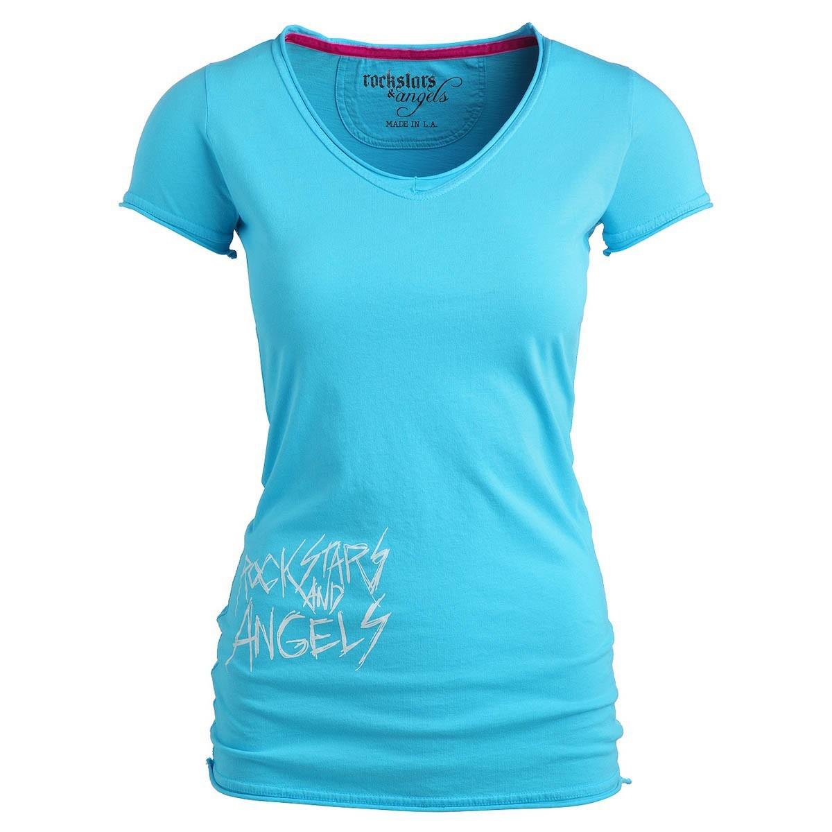 rockstars angels new logo t shirt t rkis damen women t. Black Bedroom Furniture Sets. Home Design Ideas