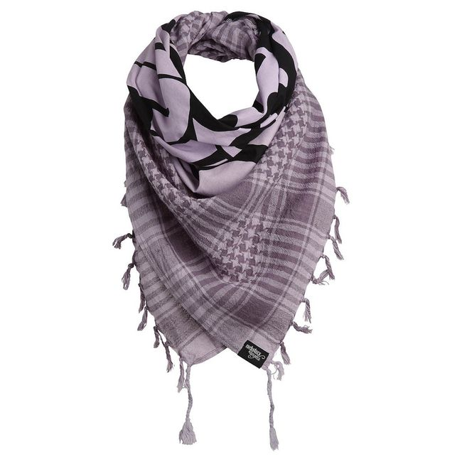 Rockstars & Angels Unisex Wanted Scarf purple
