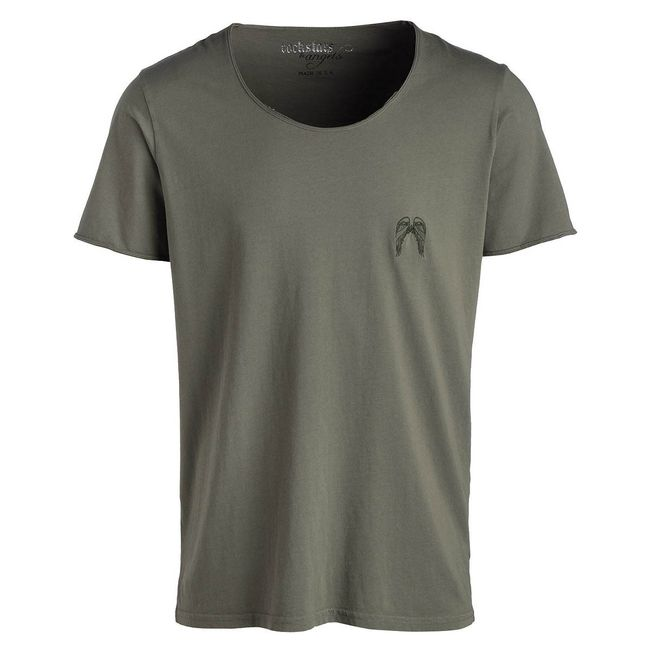 Rockstars & Angels M-S12-RC-04 Rock Cut Wings army green Herren