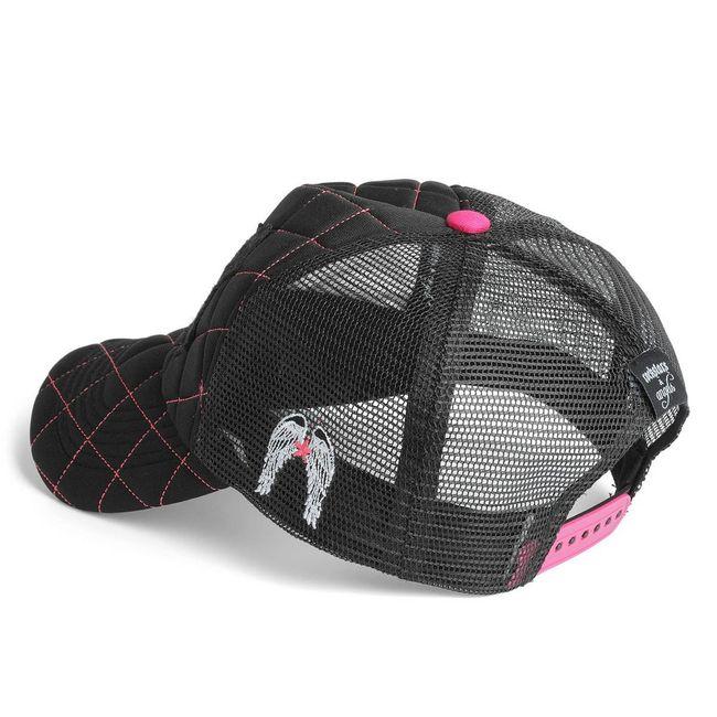 Rockstars & Angels Unisex Cap R&A black/neon pink