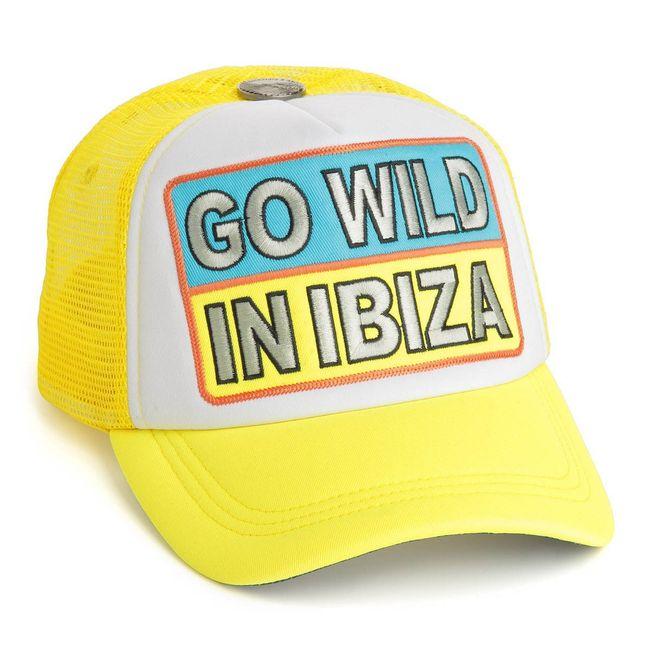 Rockstars & Angels Unisex Cap Go Wild in Ibiza neon/gelb