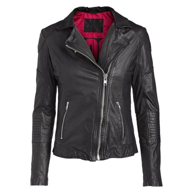 Rockstars & Angels Leather-Jacket Women black