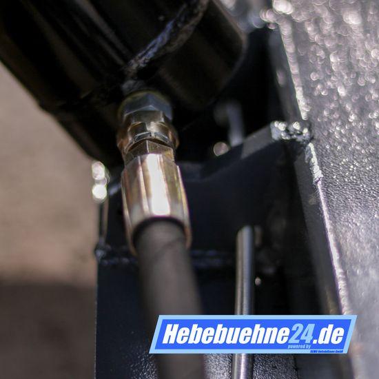 REMO Powerlift 1000 Motorrad Hebebühne 1000Kg Tragkraft, rot – Bild 11