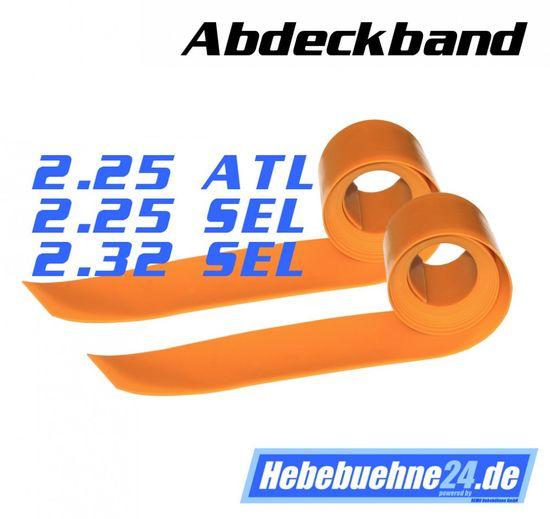 Abdeckband für Nussbaum Hebebühne 2.25 ATL, 2.25 SEL, 2.32 SEL