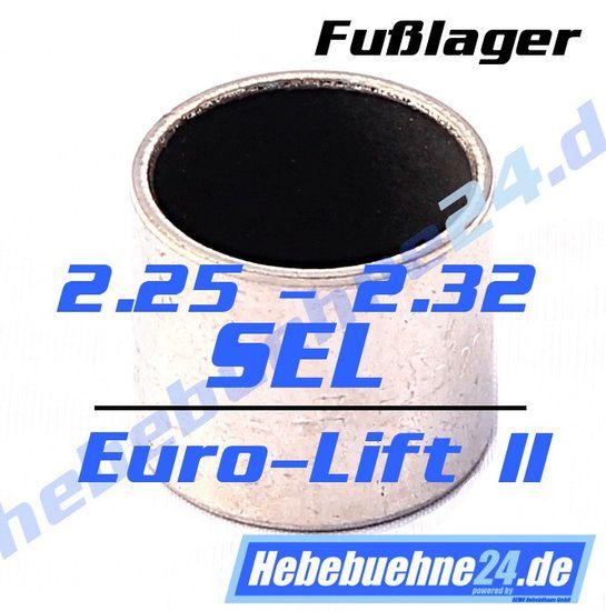 Fußlager für Nussbaum 2.25 SEL, 2.32 SEL, Euro-Lift II Buchse – Bild 1