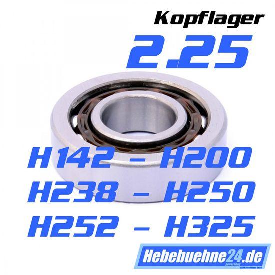 Schrägkugellager für Consul 2.25 - H142, H325, H200, H238, H250, H252 Kopflagerung – Bild 1