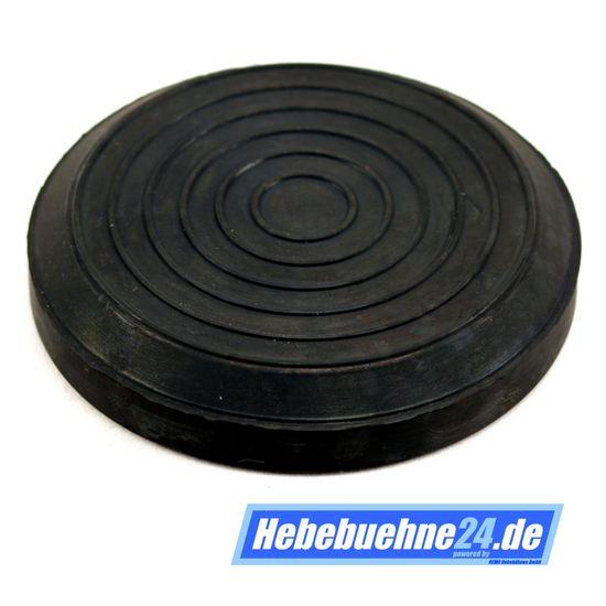 Gummiauflage/Gummiteller für Rotary Hebebühne, Ø123x20mm – Bild 1