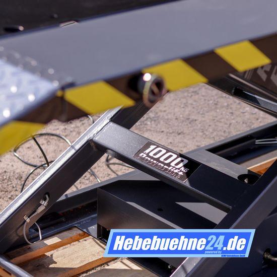 Motorradhebebühne, REMO Powerlift 1000, 1000Kg Tragkraft, Schwarz – Bild 12