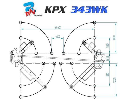 Ravaglioli KPX 343WK, 3,5t, Platin-Edition, Allround Bühne – Bild 6