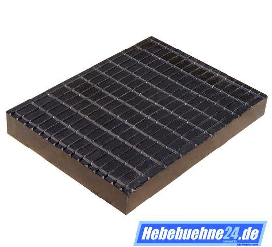 Gummiklotz für Hebebühnen, mit Struktur-Oberfläche, Maße: 160x120x20mm – Bild 2