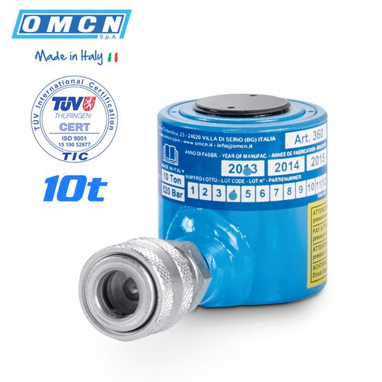 Hydraulikzylinder 10t, OMCN 360/A, TÜV Zertifizierung – Bild 1