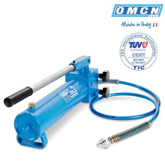 Hydraulik Handpumpe 640bar, OMCN 358/C, doppelstufig – Bild 1