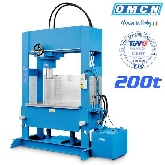 Hydraulikpresse 200t, OMCN 205/W, elektrohydraulisch – Bild 1