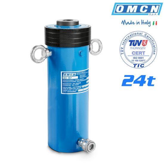 Hohlkolbenzylinder 24t, OMCN 367, mit TÜV Zertifizierung – Bild 1