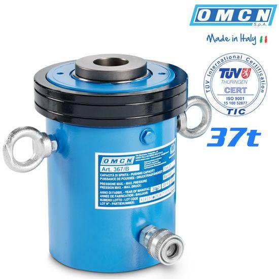 Hohlkolbenzylinder 37t, OMCN 367/C, mit TÜV Zertifizierung – Bild 1