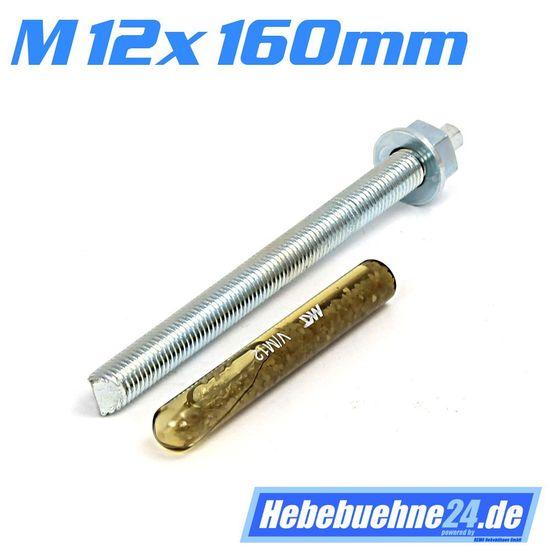Chemische Dübel, 1 Satz = 16 Stück, M12mm x 160mm Länge  – Bild 3