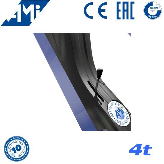 AMI 4,0 2-Säulen-Hebebühne 4t, hydraulisch, TÜV Siegel – Bild 3