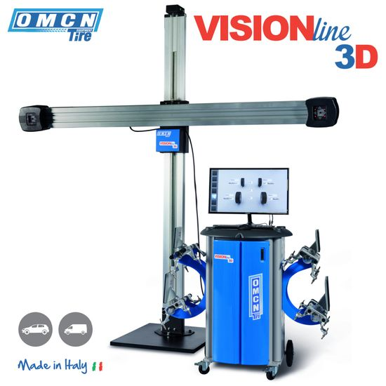 3D Achmessgerät OMCN Vision Line – Bild 1