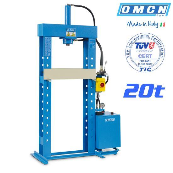 Hydraulikpresse 20t, OMCN 156/ML, elektrohydraulisch – Bild 1