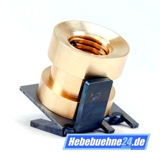 Tragmutter passend für Hebebühne MWH / Consul Typ 2.7 / 2.8 / 3.2 / FH325, Main Nut, Lifting Nut, – Bild 1
