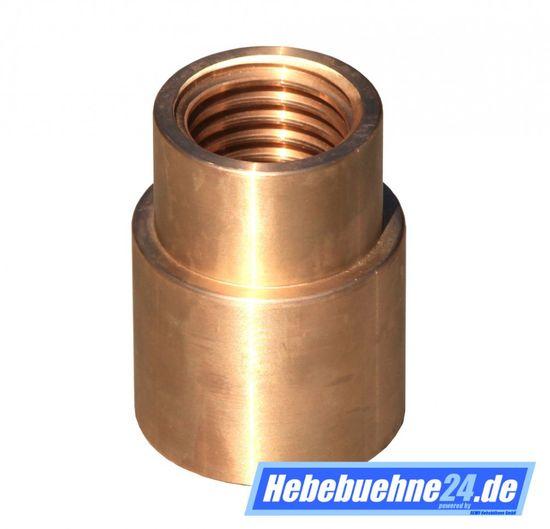 Tragmutter für Stenhoj DS2 Hebebühne, Main-Nut, Lifting-Nut, mit Trapezgewinde Ø40x6mm Gewindesteigung