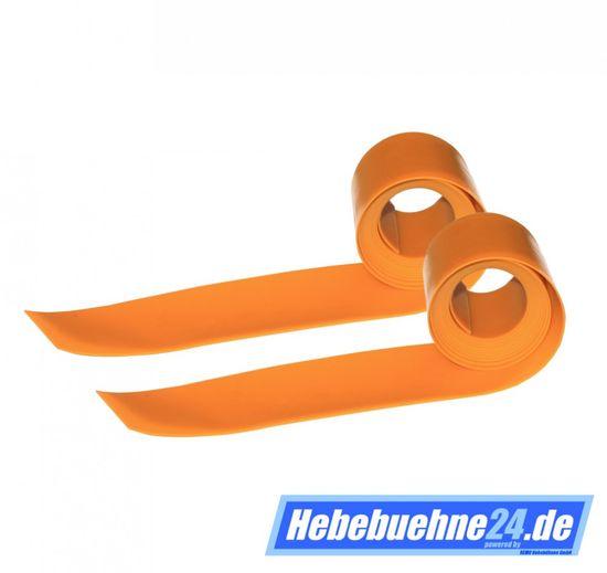 Spindelabdeckband für Zippo Hebebühne, 2 Streifen, Maße 76x2500x1,5mm