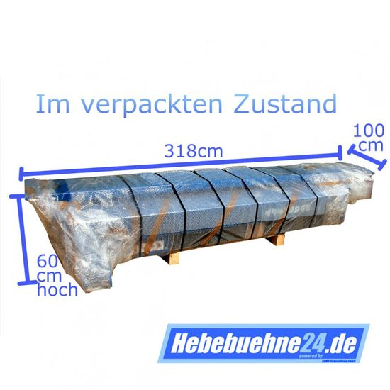 KFZ Hebebühne, Zavagli-Santi EUROLIFT Z-51/3S, mit Grundrahmen, 3,5t – Bild 10