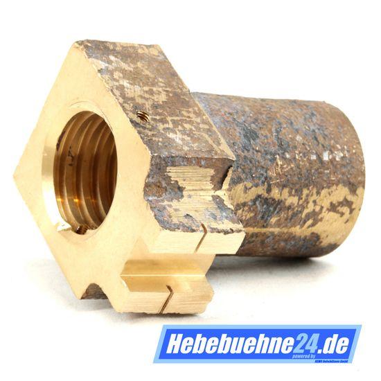 Sicherheitsmutter für Hebebühne OMCN 199C / A / B / N / Q / P / XR / H aus Bronze mit TR Ø40x6mm, Safety Nut