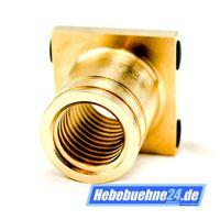 Tragmutter für Hofmann Duolift MTE 3000, Main-Nut, Lifting-Nut, aus Bronze mit Trapezgewinde Ø45x6mm 001