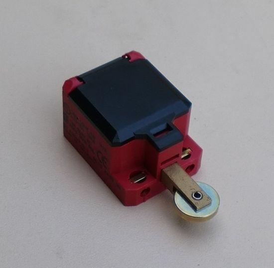 Endschalter / Notabschalter klein in Farbe rot,  passend für 1-Säulen Hebebühne REMO E200, Longus L200, IME200 – Bild 2