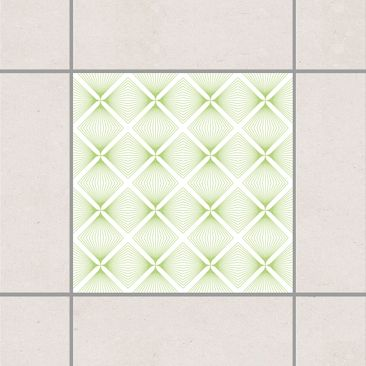Produktfoto Tile Sticker - Tender Vintage Caro White...