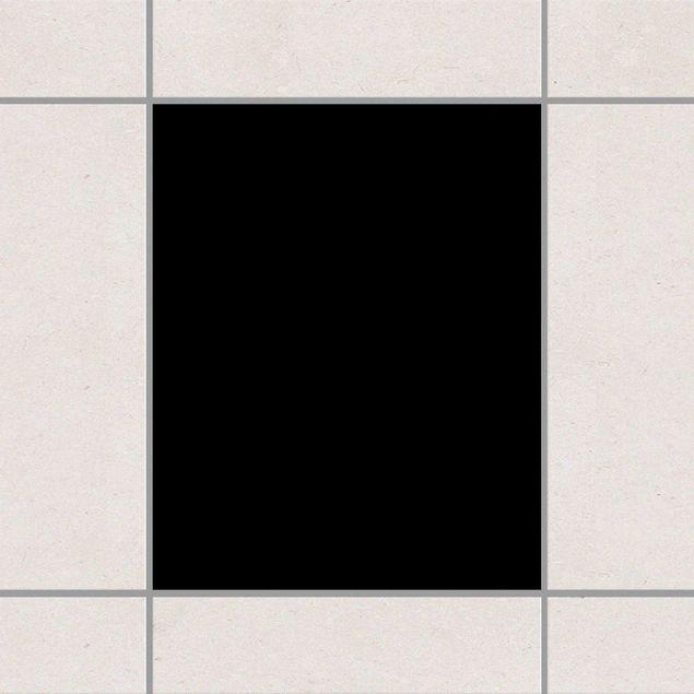 Produktfoto Fliesenaufkleber Bad & Küche - Schwarz 25x20 cm - Set