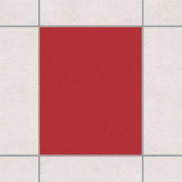 Produktfoto Fliesenaufkleber Bad & Küche - Rot 25x20 cm - Set