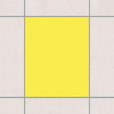 Produktfoto Fliesenaufkleber Bad & Küche - Colour Lemon Yellow 25x20 cm - Set Gelb