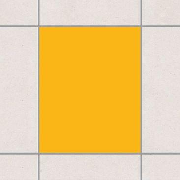 Produktfoto Fliesenaufkleber Bad & Küche - Colour Melon Yellow 25x20 cm - Set Gelb