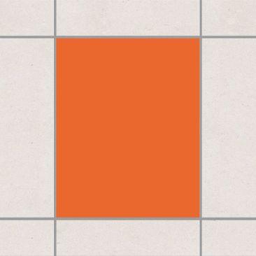 Produktfoto Fliesenaufkleber Bad & Küche - Colour Orange 25x20 cm - Set