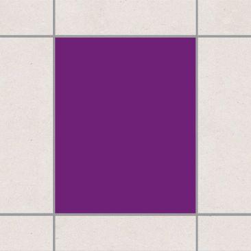 Produktfoto Fliesenaufkleber Bad & Küche - Colour Purple 25x20 cm - Set Violett