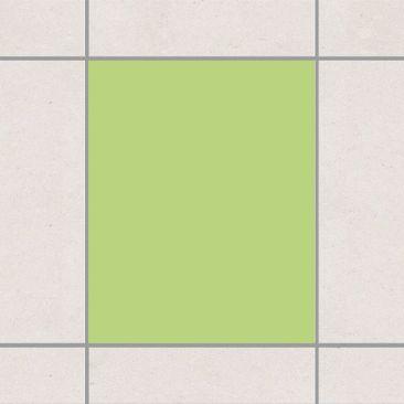 Produktfoto Fliesenaufkleber Bad & Küche - Colour Spring Green 25x20 cm - Set Grün